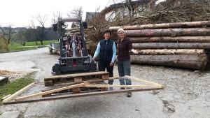 Torkonstruktion mit Anke aus Deutschland